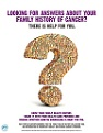 Family Health History of Cancer Poster