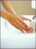 Handwashing - Photo credit: CDC