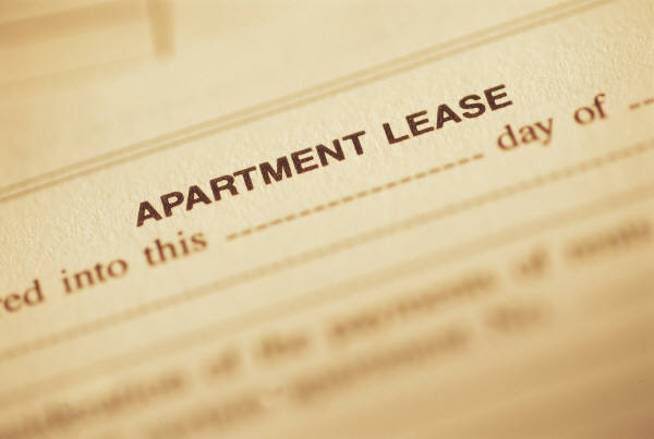 copy of apartment lease