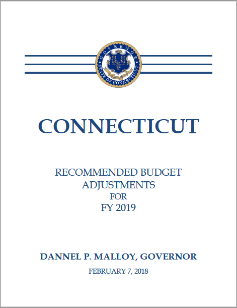 FY 2019 Governor's Midterm Budget Adjustments